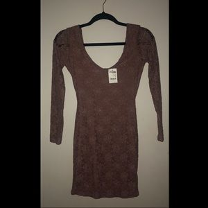 NWT LACE CHAROLETTE RUSSE DRESS